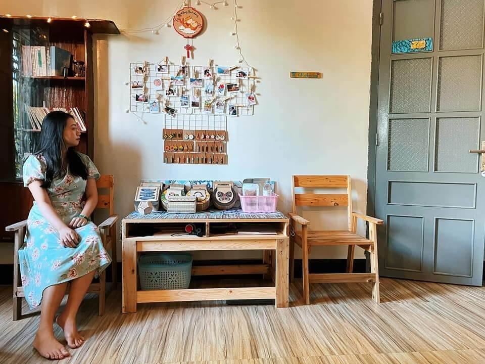 Không gian phòng khách [Ảnh: Chú Trọc homestay - Phan Rang Home and Camping]